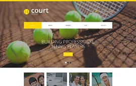 H06 - Website sân bóng tennis, web  tennis