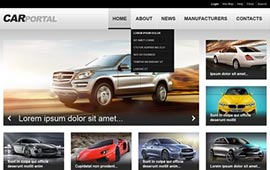 H09 - Website showroom OTO, web car, web bán oto