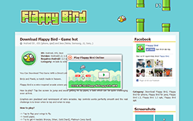 flappy bird, game, flappy bird online, download flappy bird